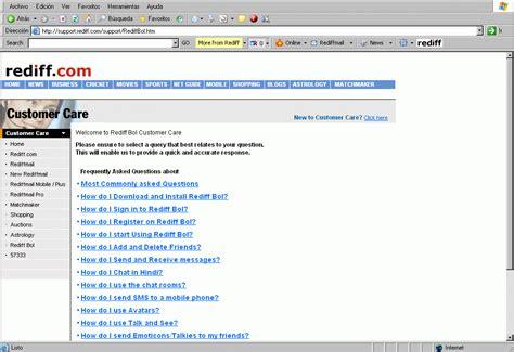 Rediff Bol Chat Room by Rediff Bol Software Informer Screenshots