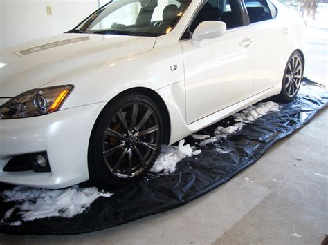 Garage Mat For Car by 18 L X 8 W Car Garage Floor Guard