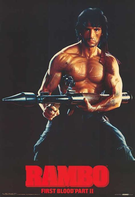 film rambo part 2 rambo first blood part ii movie posters at movie poster