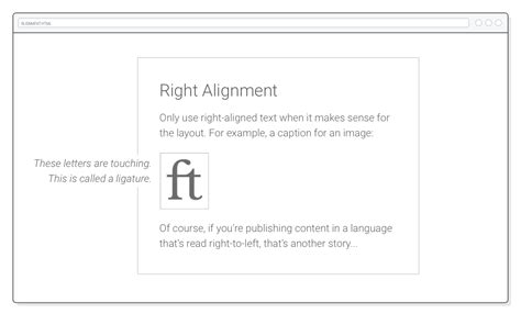 html layout align right web typography tutorial html css is hard