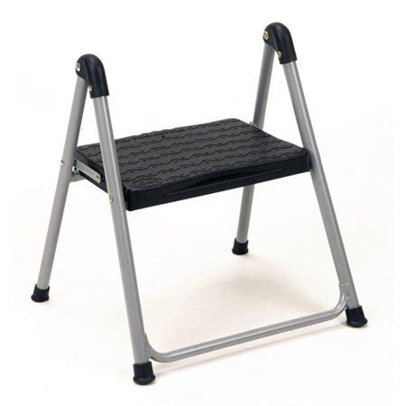 Folding 1 Step Stool by Cosco 1 Step Folding Step Stool Without Handle Walmart