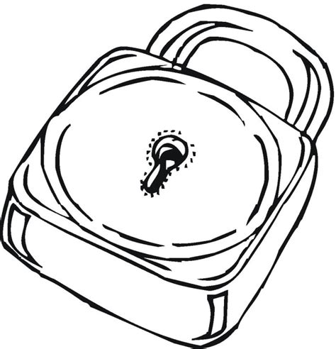 coloring page lock and key free coloring pages of lock and key
