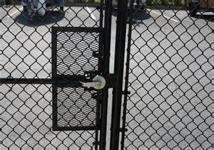 chain link fence gate latch hardware fence ideas