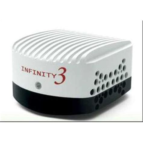 lumenera infinity3 3urm ccd microscopy camera, monochrome