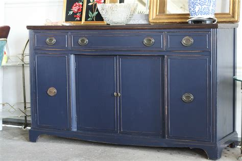 Coastal Blue Sideboard   General Finishes Design Center