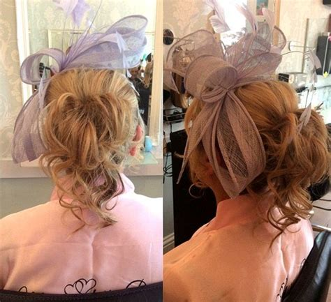 hairstyles for medium length hair with fascinator 40 ravishing mother of the bride hairstyles