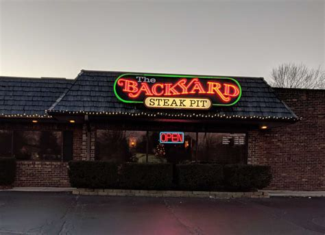 backyard steak pit backyard steak pit gurnee witte s world blog