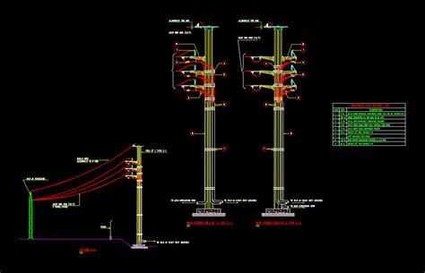 kv transmission portico  autocad cad  kb