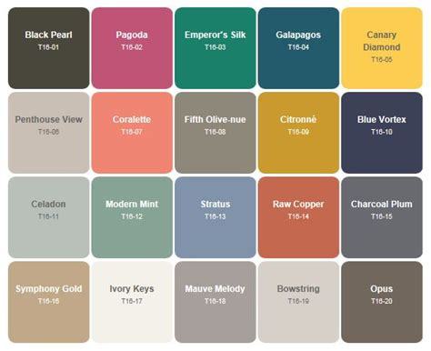 behr paint colors list behr paint trends for 2016 favorite paint colors paint