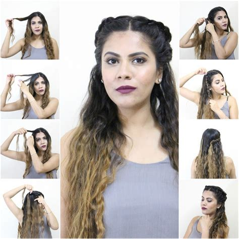 cute hairstyles without heat diy easy simple hairstyles without heat what woman needs