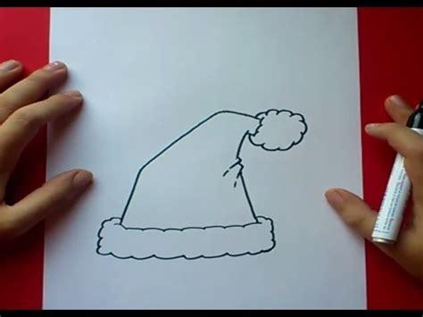 imagenes del gorro de santa claus como dibujar un gorro de papa noel paso a paso 2 how to