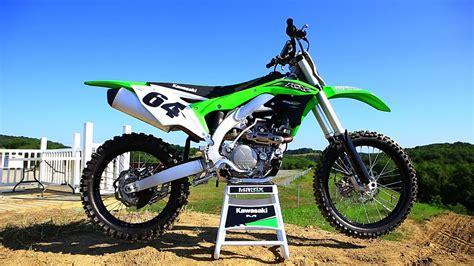 motocross action online first ride 2016 kawasaki kx450f motocross action