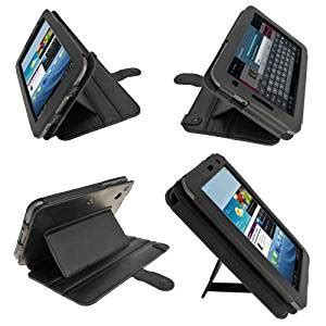 Smart Leather For Samsung Galaxy Tab 70 P3100 P6200 1 igadgitz black guardian triview genuine leather