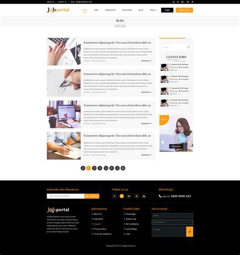 themeforest job portal job portal psd template by tmdstudio themeforest