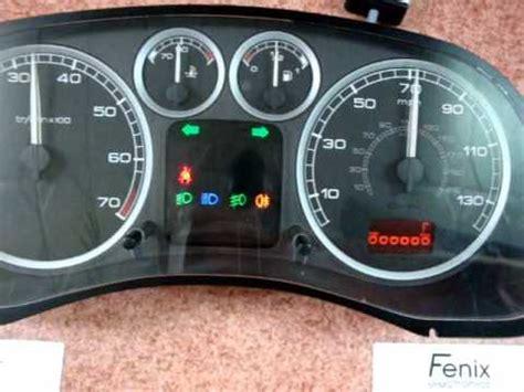 peugeot 307 airbag removal tester licznika peugeot 307 instrument cluster tester