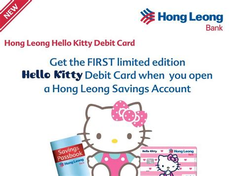 Atm Hellokitty nynyberry how to apply for a hong leong hello