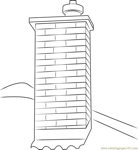 Chimney Pictures - chimney coloring page free chimney coloring pages