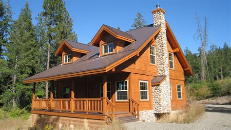 country ranch plan by pan abode cedar log homes