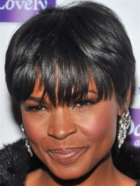 short hairstyles for fine african amerocan hair african american short hair styles the best short