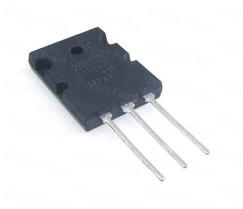 transistor lifier power gain ttc5200 high power lifier transistor toshiba original npn power transistor to264