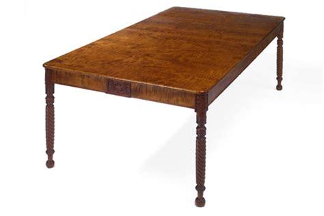 Sheraton Style Dining Table Sheraton Style Dining Table Dorset Custom Furniture