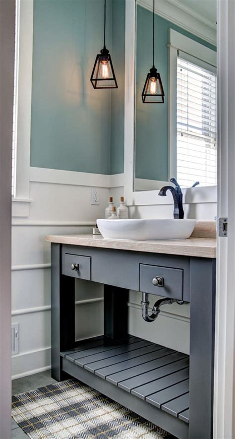 Great Ideas For Small Bathrooms Ranch Style Home With Transitional Coastal Interiors