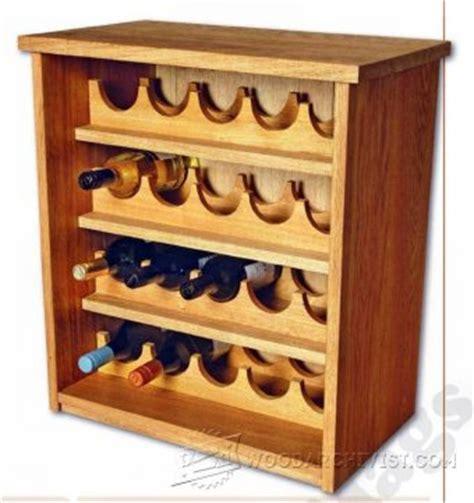 X Wine Rack Plans by Stacking Wine Rack Plans Woodarchivist