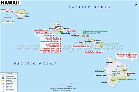 map of hi hawaii map map of hawaii hi usa