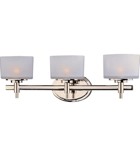 22 New Bathroom Lighting On Maxim 9023swpn Lola 3 Light 22 Inch Polished Nickel Bath Light Wall Light In 22 25 In