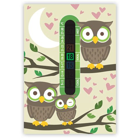 bedroom thermometer a6 owl room thermometer funky monkey house
