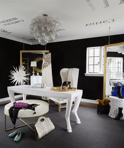 black and white home design inspiration tour this amazing fashion blogger s transitional home