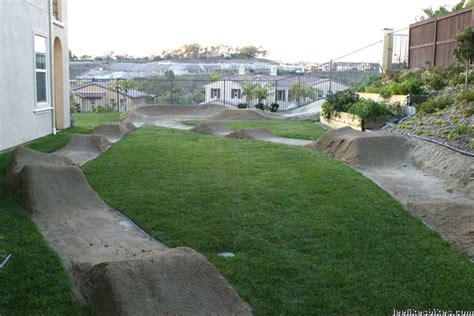 backyard bmx track design vintagebmx com gt backyard tracks and hoas
