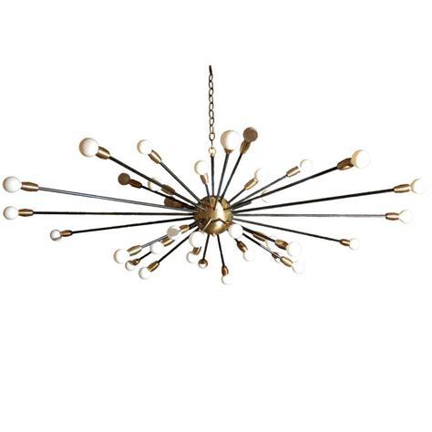36 Light Fixture 36 Light Brass Sputnik Light Fixture At 1stdibs