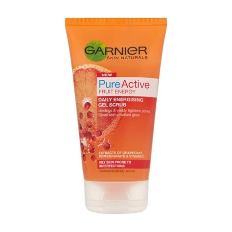 Scrub Garnier garnier skin naturals active fruit energy daily