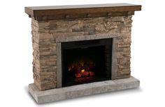 does electric fireplace save money home decorators collection ludlow 44 in media console