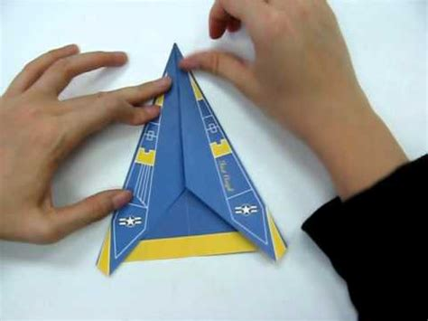 Origami F 18 - how to make origami plane f18 avi doovi