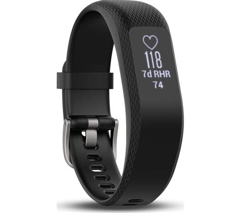 garmin vivosmart reset time buy garmin vivosmart 3 hr black large free delivery