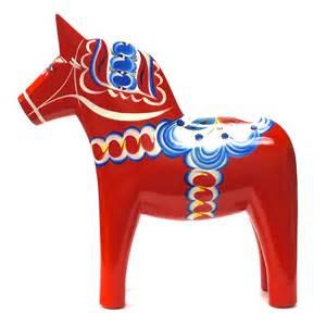 Seasonal Table Runners Swedish Dala Horse Iverson S Imports