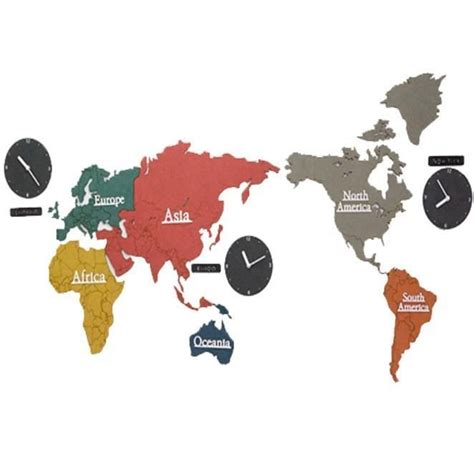 Jam Dinding Coffee Time 25 best ideas about international time zone map on