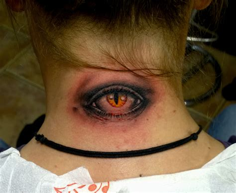 evil eye tattoo on neck 51 evil eye tattoos