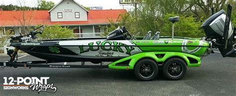 paw patrol flw boat advertising sponsor wrap on a 2016 ranger z521c bass boat
