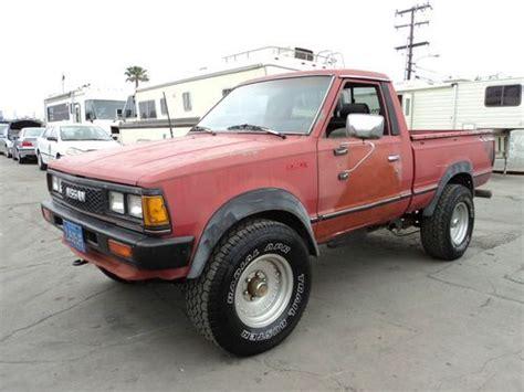 orange nissan truck find used 1984 nissan pick up no reserve in orange