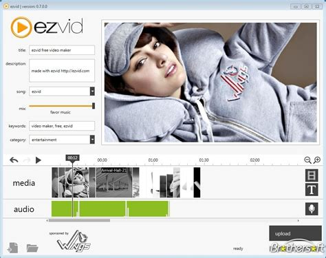 ezvid free video editing software full version download free ezvid ezvid 0 9 2 0 download