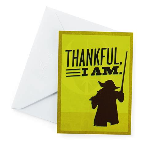 Thank You Note To Master Wars 10 Count Thank You Notes Designed Stationery Hallmark