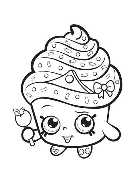 imagenes para pintar shopkins dibujos para colorear shopkins imprimible gratis para