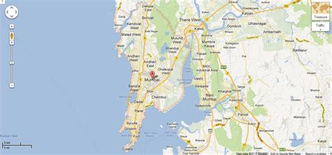 mumbai map satellite on the occation of 1 april launched treasure maps