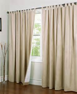 Width Of Curtains For Windows Weathermate Insulated Tab Top Curtains Thermal Curtains Width Curtains