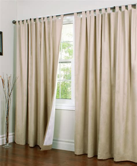 Window Drapes Weathermate Insulated Tab Top Curtains Thermal Curtains