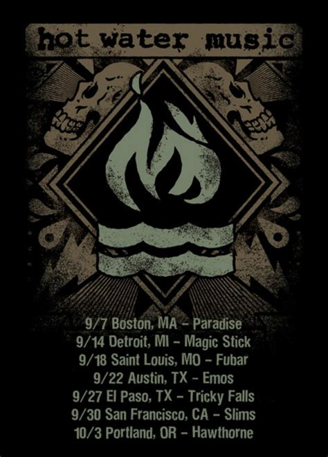 dates in hot water hot water music announce headlining tour dates
