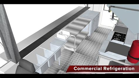 Custom Floor Plan food truck 3d floor plan biz on wheels youtube